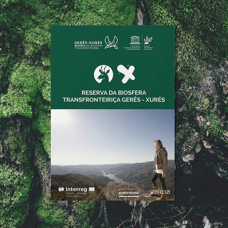 Flyer Reserva Biosfera Gerês Xurés