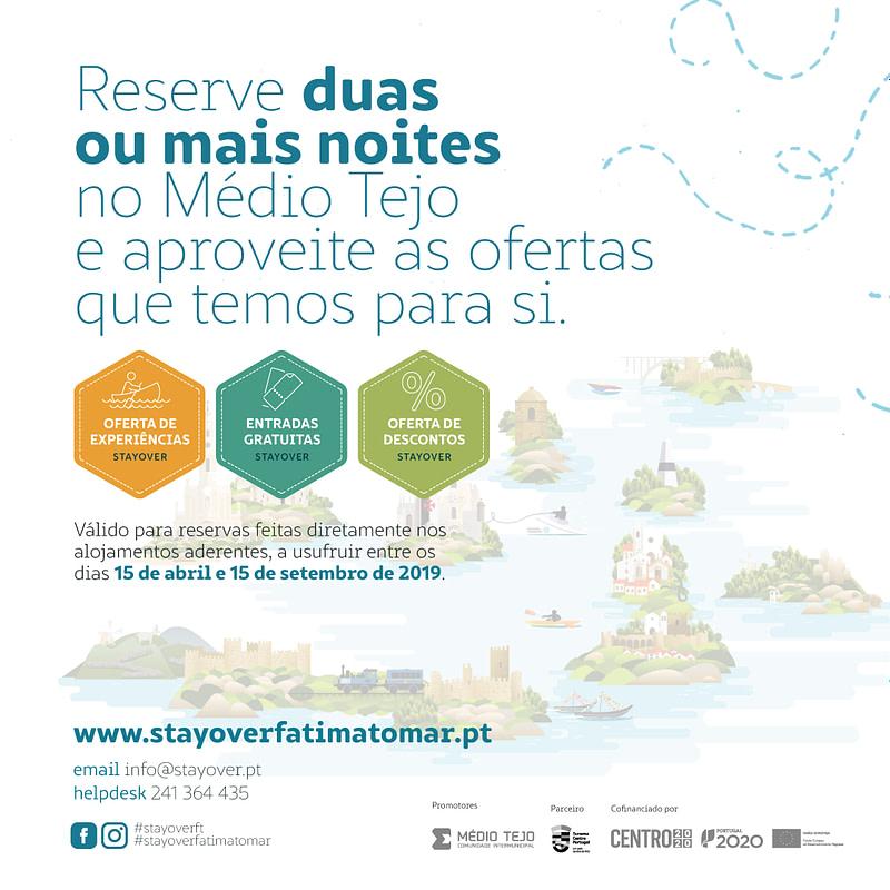 Funcionamento do StayOver Fátima-Tomar